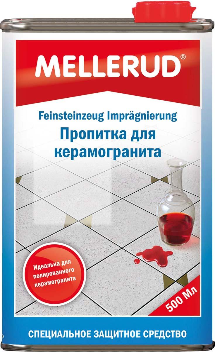 Пропитка для керамогранита Mellerud, 500 мл336Пропитка для керамогранита Mellerud защищает от проникновения масляных, жировых и водянистых загрязнений. Специальное средство для защиты от пятен для полированного до сверкания, матового, необработанного, структурированного, отшлифованного керамогрантита для внутреннего и наружного применения. Для пола, стен, столов, кухни, ванных, полов в гаражах и мастерских.Применение. Продукт равномерно распределяется кисточкой или валиком по чистому и сухому основанию. Количество нанесенной пропитки должно соответствовать впитывающей способности материала. Излишки материала необходимо немедленно удалить с поверхности (возможно бензином). Продукт начинает действовать в течение 24 часов. Расход. 500 мл на 20-30 кв.м.Внимание. Из-за возможного изменения цвета проверить на незаметном участке. Во время высыхания не наступать.Как выбрать качественную бытовую химию, безопасную для природы и людей. Статья OZON Гид