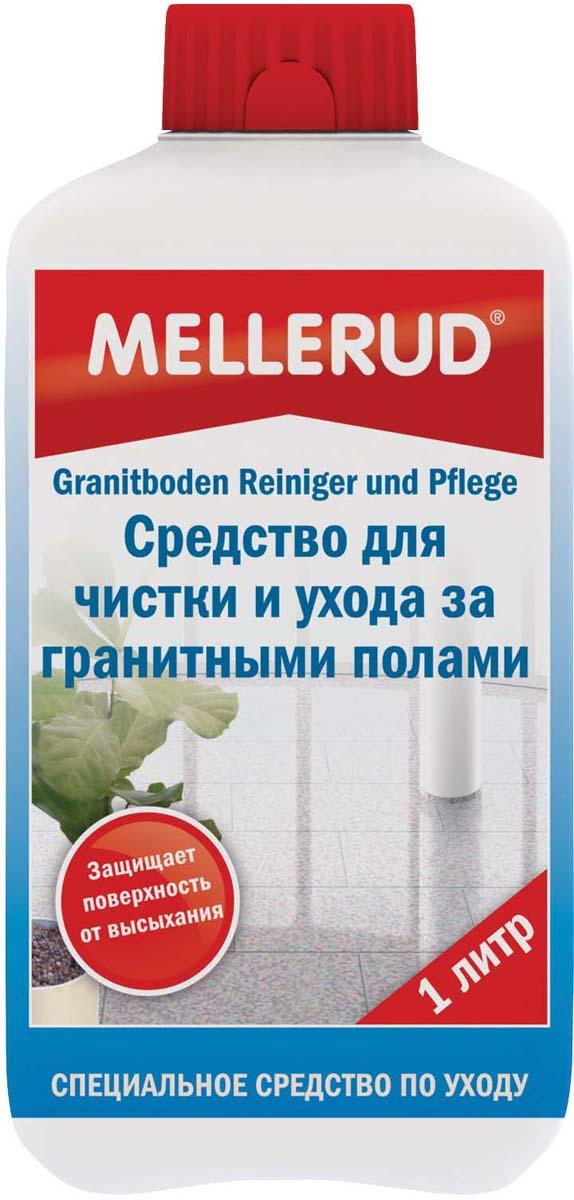 Средство для чистки и ухода за гранитными полами Mellerud, 1 л349Специальное средство Mellerud для очистки и удаления грязи, а также для регулярного ухода за потерявшими блеск гранитными поверхностями на кухне, в ванной, в жилых и общественных помещениях. Бережно, но основательно удаляет жировые и масляные отложения с пола, облицовки стен, подоконников, рабочих кухонных поверхностей и т.д. Также подходит и для наружного применения. Оптимально подобранные компоненты одновременно очищают и ухаживают за гранитными поверхностями, защищают от их высыхания и надолго сохраняют природную красоту камня.Применение: в 8-10 л. теплой воды добавить 30 мл. данного средства и хорошо размешать. Равномерно нанести раствор на поверхность, ненадолго оставить, затем протереть ее этим раствором еще раз. Блеск на обработанной поверхности проявится через некоторое время.Внимание. Если блестящие полы станут матовыми, то необходимо уменьшить дозировку продукта. Для защиты от жировых и масляных загрязнений, а также образования пятен необходимо применять Пропитку для мрамора и натурального камня Mellerud.Хранить в местах, недоступных для детей. Объем: 1000 мл. Как выбрать качественную бытовую химию, безопасную для природы и людей. Статья OZON Гид