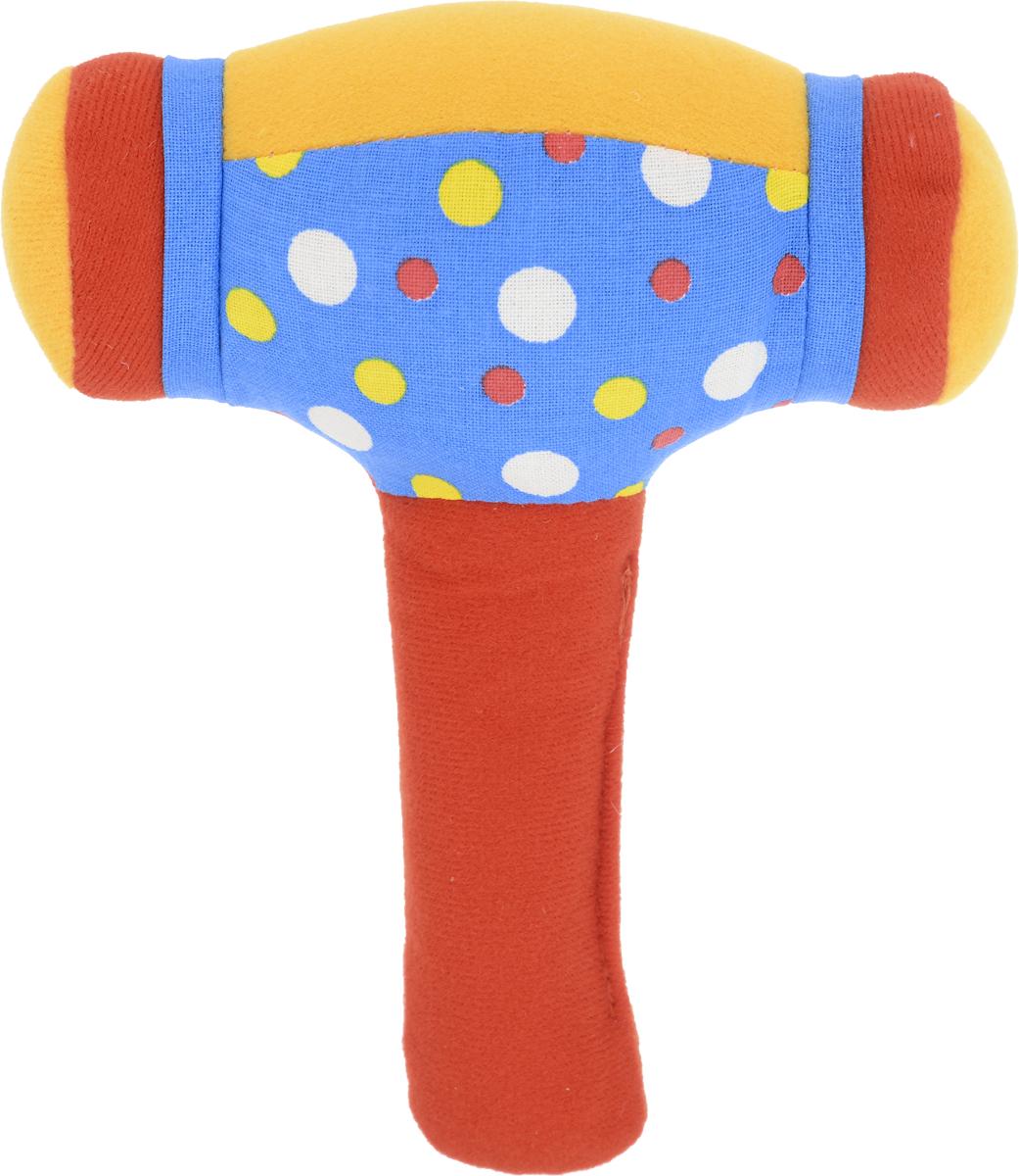 Мякиши Погремушка Молоточек цвет красный синий игрушка погремушка мякиши медвежонок колечко