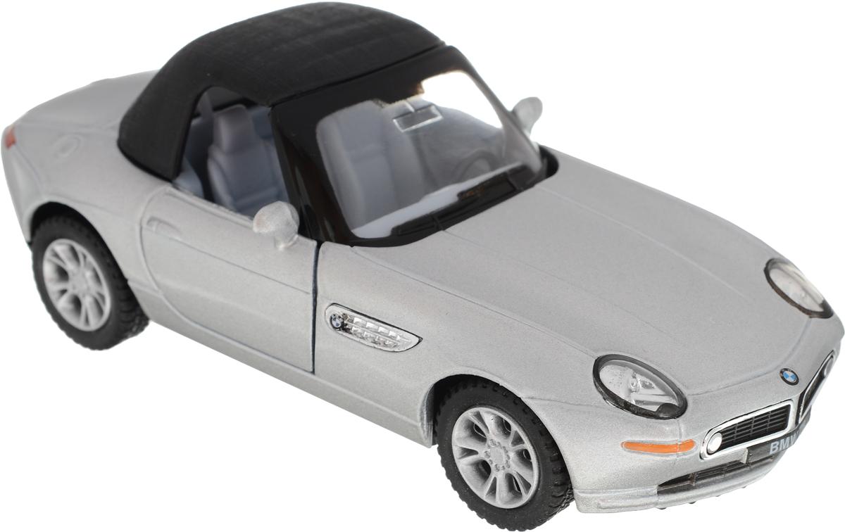 Kinsmart Модель автомобиля BMW Z8 цвет серебристый motormax модель автомобиля bmw z8 масштаб 1 60