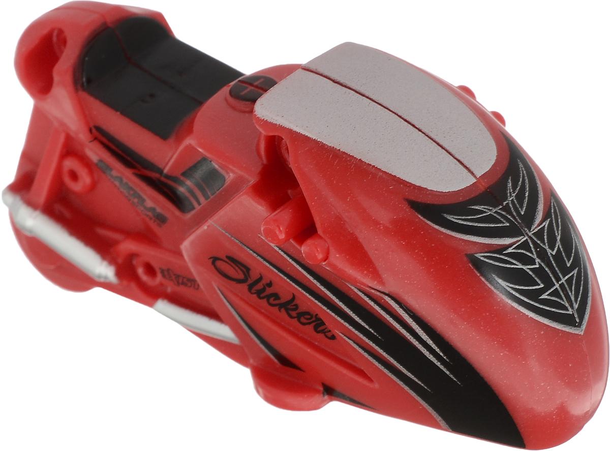 Maisto Мотоцикл инерционный Slickers цвет красный maisto модель автомобиля 2014 corvette stingray цвет красный