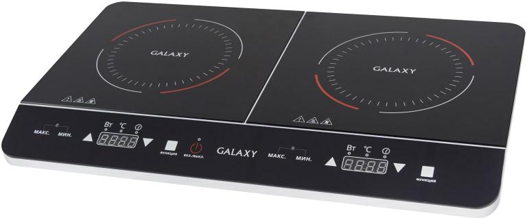 Galaxy GL 3055, Black настольная плита4650067303215Индукционная плитка Galaxy GL 3055 значительно облегчает процесс приготовления блюд благодаря высокой скорости нагрева и возможности выбора нужного режима, а компактный размер позволяет легко разместить ее на кухне или взять на дачу! Особенности:- Диапазон параметров температуры 60-240°С.- Регулировка времени приготовления в диапазоне от 5 до 180 минут.- Функция выбора минимального и максимального значений параметров.- Блокировка от детей.- 6 уровней мощности.- Светодиодный дисплей.- Сенсорное управление.- Защита от перегрева.- Автоотключение при отсутствии посуды.- Автоотключение при отсутствии воды в посуде.
