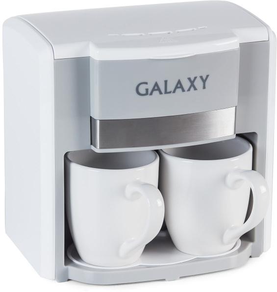 Galaxy GL 0708, White кофеварка4650067303611Техника для приготовления горячих напитков Galaxy отвечает всем современным требованиям надежности и безопасности. При ее производстве используются только высококачественные и экологически безопасные материалы, а также нагревательные элементы и контроллеры высокого класса надежности.Среди разнообразия моделей каждая будет служить Вам долгие годы, наполняя Ваш быт комфортом!Как выбрать кофеварку. Статья OZON Гид
