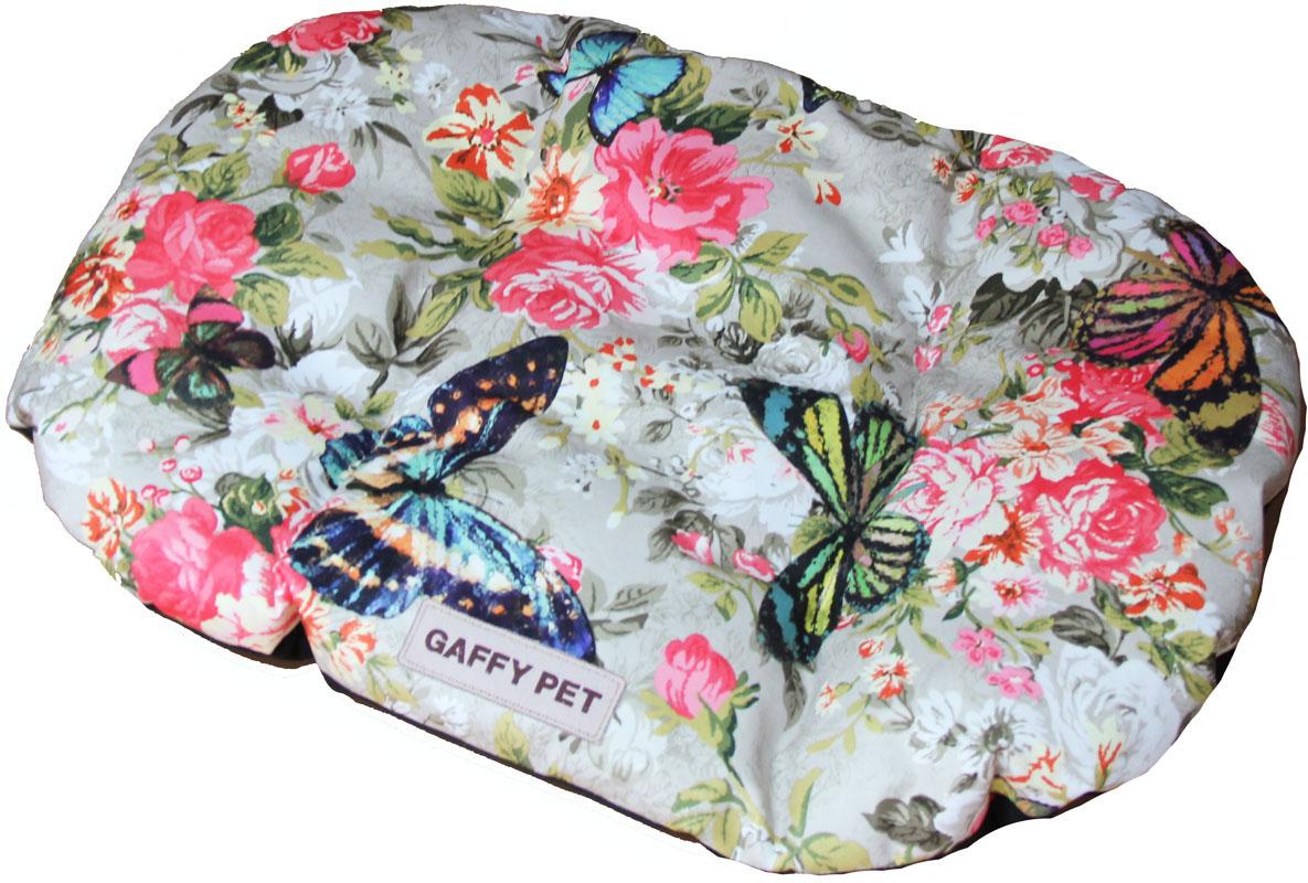 Подушка для животных Gaffy Pet Butterfly, цвет: зеленый, 75 х 55 см11235 MНовая коллекция из серии PETS из прочных профессиональных тканей. АНТИКОГОТЬ. Высота борта впереди варьируется. Очаровательная расцветка, подойдет как кошкам, так и собакам. Можно стирать на ручном режиме в стиральной машине и чистить щеткой.