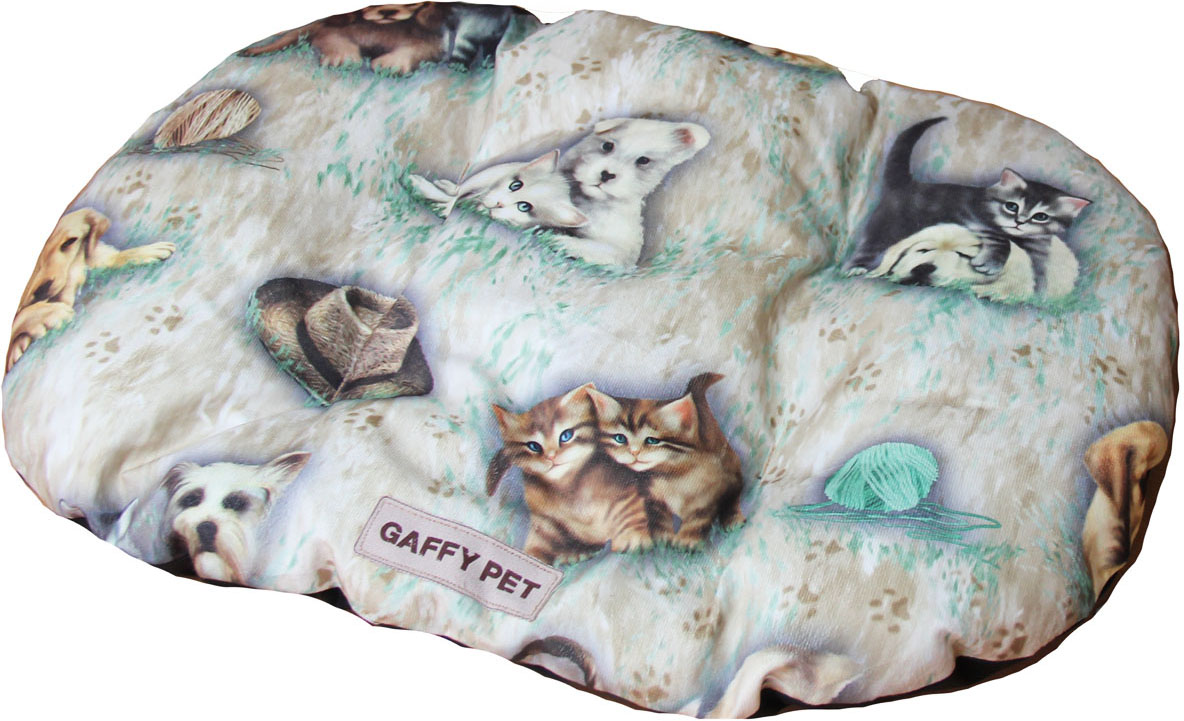 Подушка для животных Gaffy Pet Pets, цвет: бежевый, 75 х 55 см лежаки для животных happy house подушка pure dutch pet design коричневый m 110 75 15 см для домашних животных
