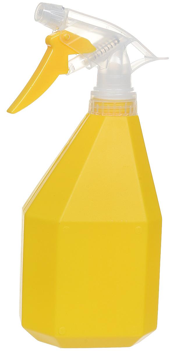 Опрыскиватель Idea Конус, цвет: желтый, 0,5 л опрыскиватель idea пирамида цвет голубой 1 л
