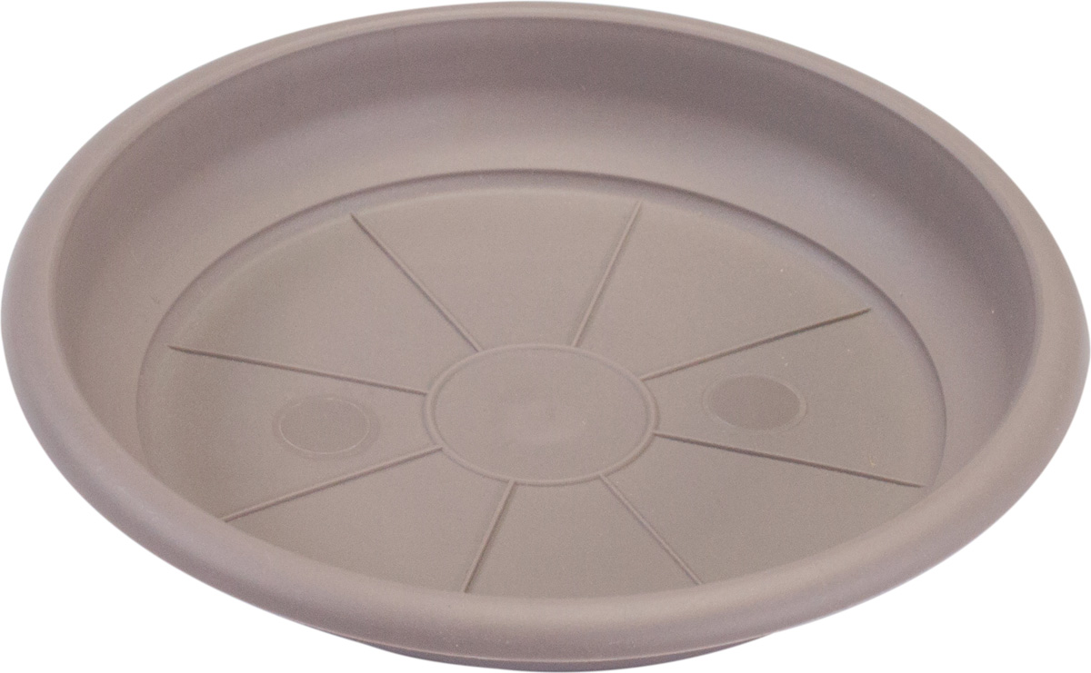 Поддон Santino Терра, цвет: шаде, диаметр 12,5 смAS 3 GRA-ALBПоддон Santino Терра изготовлен из высококачественного пластика, не содержащего вредных примесей, устойчивых к воздействию ультрафиолета. Удерживает влагу дольше, чем глиняные изделия.