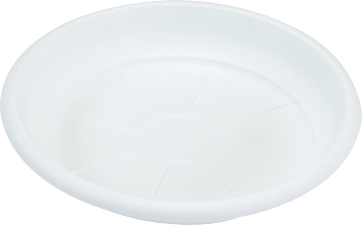Поддон Santino Терра, цвет: белый, диаметр 18,5 смBH-09-1Поддон Santino Терра изготовлен из высококачественного пластика, не содержащего вредных примесей, устойчивых к воздействию ультрафиолета. Удерживает влагу дольше, чем глиняные изделия.