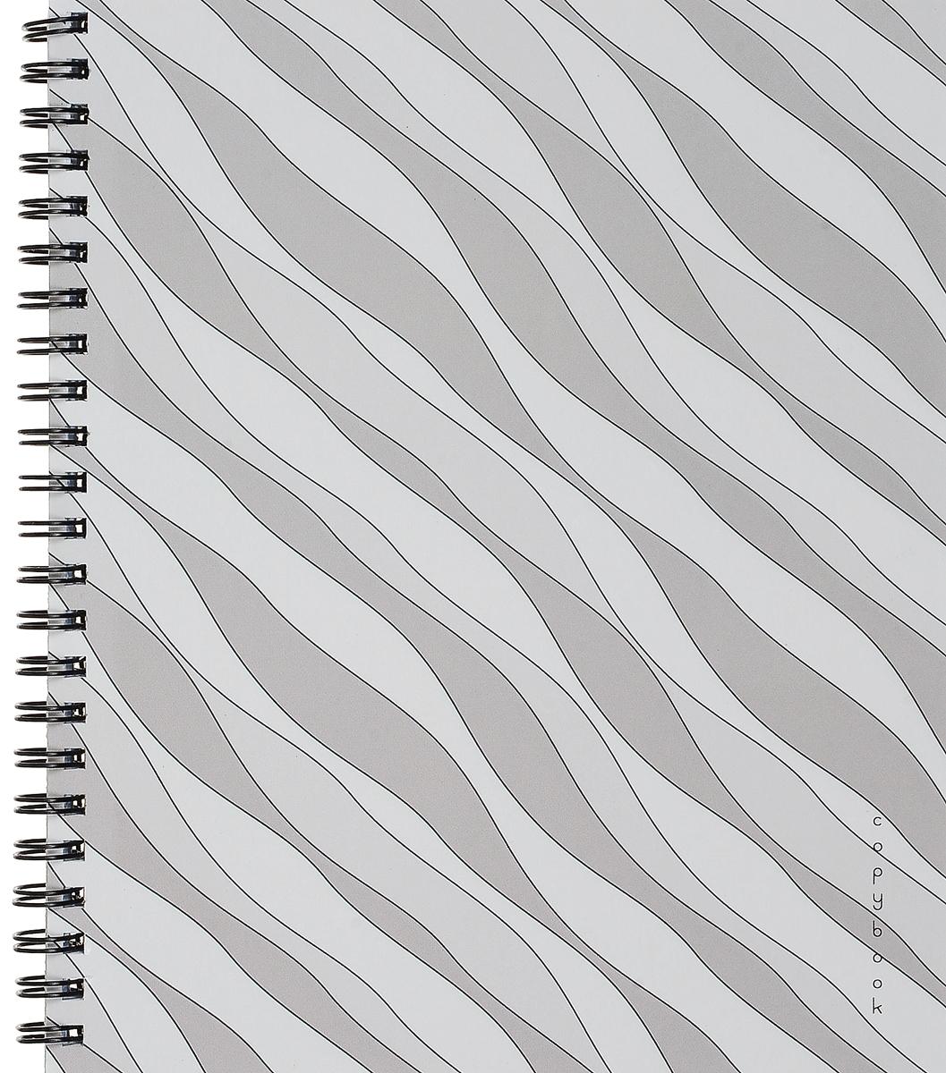 Канц-Эксмо Тетрадь Гармония цвета 96 листов в клетку цвет серый, белыйТСЛ965215_серый, белыйКанц-Эксмо Тетрадь Гармония цвета 96 листов в клетку цвет серый, белый