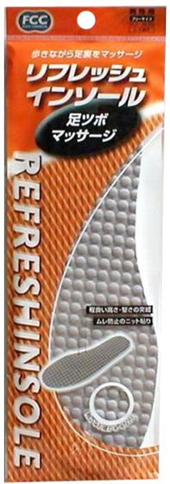 Fudo Kagaku Стельки массажные для уменьшения усталости ног 24-28 см013617Специальные разгружающие массажные стельки. Благодаря своей уникальной поверхности, осуществляют лёгкий массаж при ходьбе и беге, что способствует лучшей циркуляции крови. Уменьшают шоковые нагрузки на стопу, уменьшают болевые ощущения и снижают усталость. Материал стелек способствует удалению излишнего тепла и влаги. Подходят для любого типа обуви.