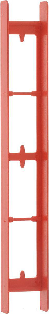 Мотовило AGP, цвет: красный, 25 x 1,8 x 1,5 смА4-0030AGP - удобное мотовило, которое обеспечит удобное хранение и транспортировку поводков или лески любой длины. Мотовило изготовлено из пластика.Размер: 25 x 1,8 x 1,5 см.