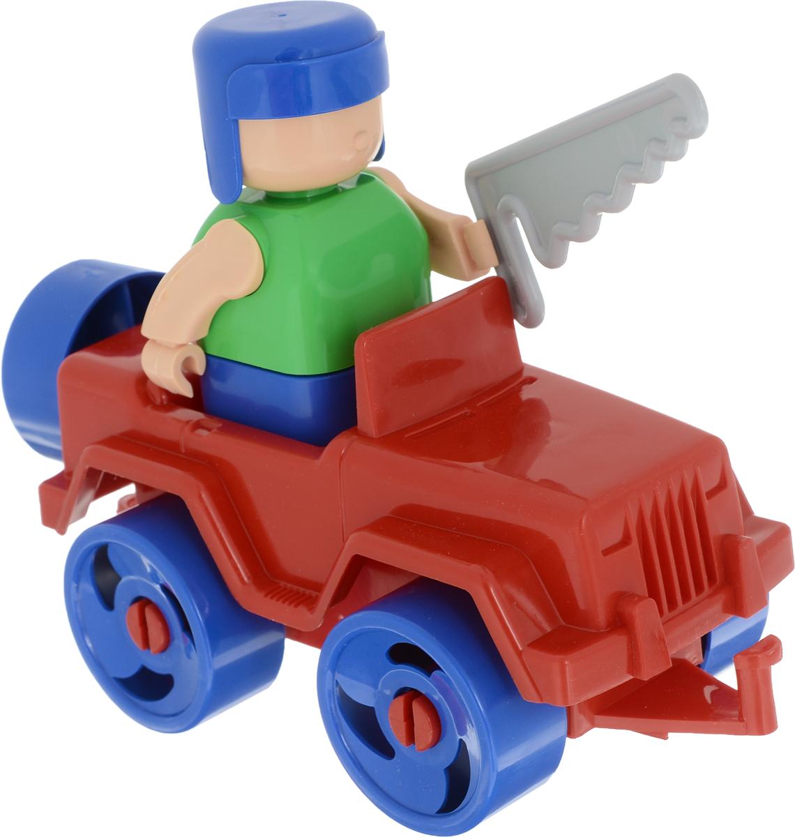 Bauer Конструктор Рабочая техника цвет машины красный набор для песка кроха с ведром и ситом bauer