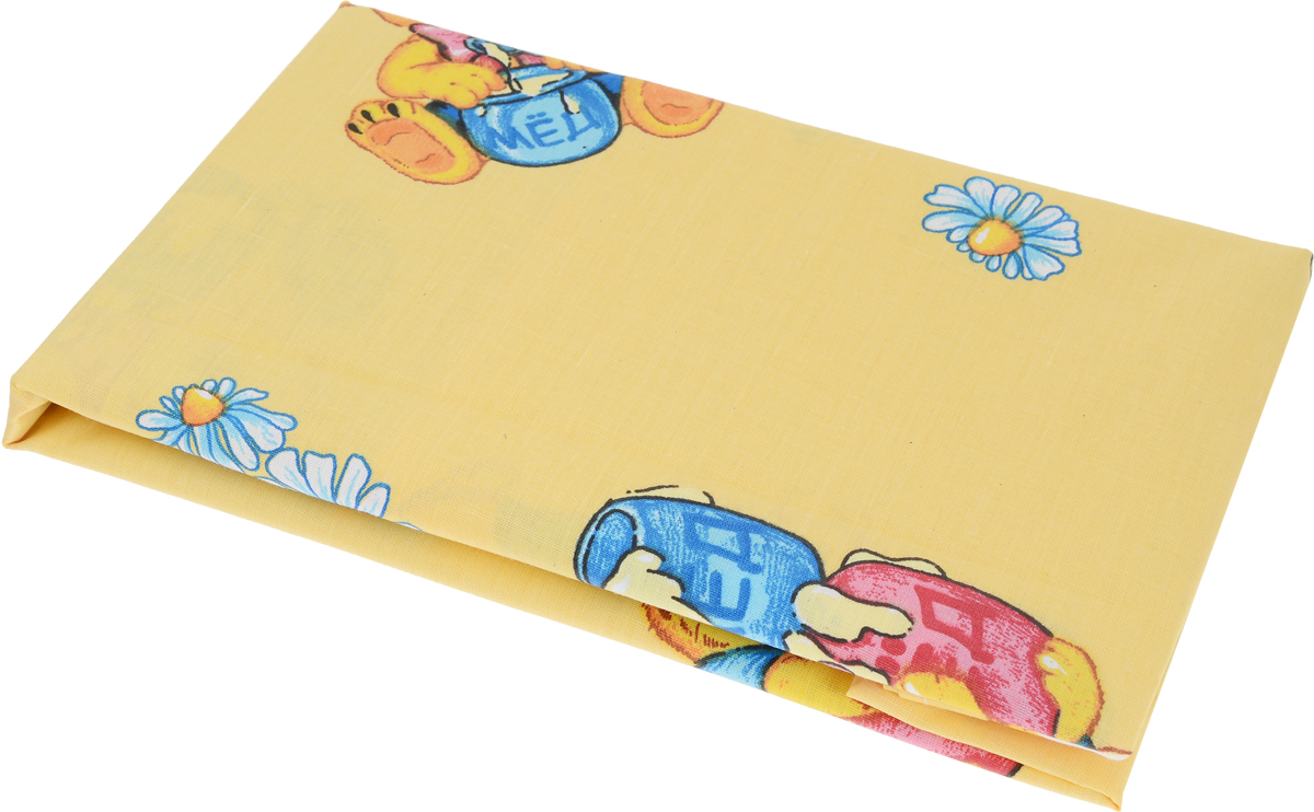 Primavelle Наволочка детская Мишки с медом цвет желтый 42 х 62 см11361206-10_мишка с медомДетская наволочка детская Primavelle идеально подойдет для подушки вашего малыша.Изготовленная из бязи (натурального 100% хлопка), она необычайно мягкая и приятная на ощупь. Натуральный материал не раздражает даже самую нежную и чувствительную кожу ребенка, обеспечивая ему наибольший комфорт.На подушке с такой наволочкой ваша кроха будет спать здоровым и крепким сном.Уход: ручная или машинная стирка в воде до 40°С, при стирке не использовать средства, содержащие отбеливатели, гладить при температуре до 150°С, химическая чистка не допустима, бережный режим электрической сушки.