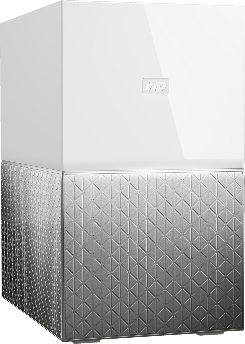 WD My Cloud Home Duo 4TB сетевое хранилище (WDBMUT0040JWT-EESN)