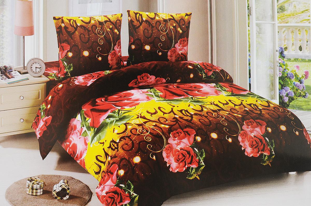Компект белья Amore Mio Viktoria, 1,5-спальный, наволочки 70x7081593Компект белья Amore Mio создадут комфорт и уют на каждый день! Разнообразие ярких и современных дизайнов прослужат не один год и всегда будут радовать вас и ваших близких сочностью красок и красивым рисунком.Мако-сатин - свежее решение, для уюта на даче или дома, созданное с любовью для вашего комфорта и отличного настроения! Нано-инновации позволили открыть новую ткань, полученную в результате высокотехнологического процесса, сочетает в себе широкий спектр отличных потребительских характеристик и невысокой стоимости. Легкая, плотная, мягкая ткань, приятна и практична с эффектом персиковой кожуры. Отлично стирается, гладится, быстро сохнет. Дисперсное крашение, великолепно передает качество рисунков, и необычайно устойчива к истиранию.Советы по выбору постельного белья от блогера Ирины Соковых. Статья OZON Гид