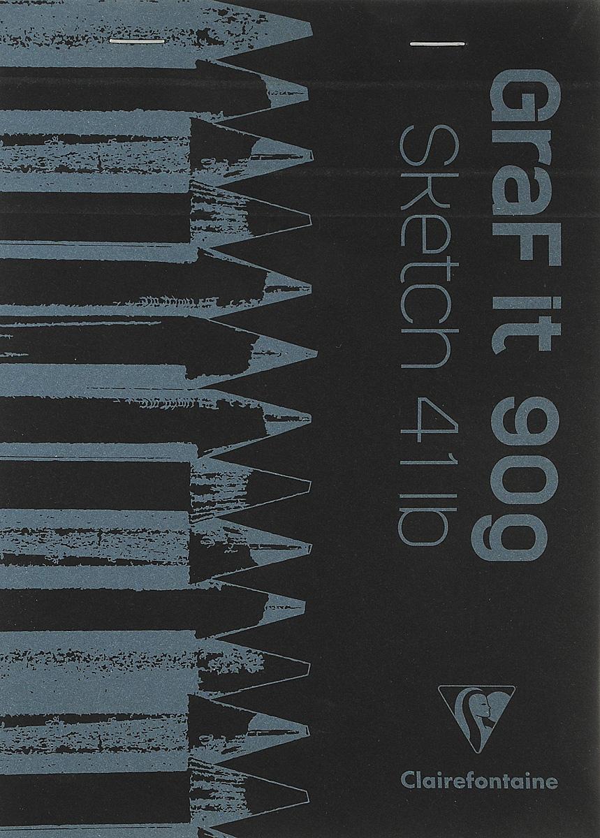 Блокнот Clairefontaine Graf It, для сухих техник, с перфорацией, цвет: черный 2, формат A5, 80 листо96842С_черный 2Оригинальный блокнот Clairefontaine Graf It идеально подойдет для памятных записей, любимых стихов, рисунков и многого другого. Плотнаяобложка предохраняет листы от порчи и замятия.Блокнот формата А5 содержит 80 листов, чего хватит на долгое время. Такой блокнот станет забавным и практичным подарком - он не затеряется среди бумаг, и долгое время будет вызывать улыбку окружающих.