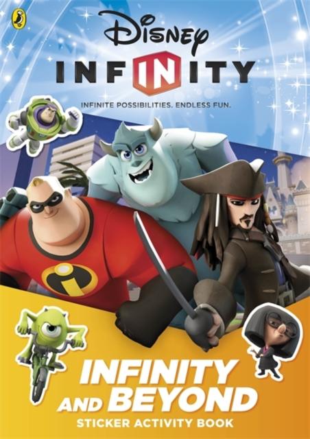 Disney Infinity: Infinity and Beyond Sticker Activity Book bin weevils sticker activity book