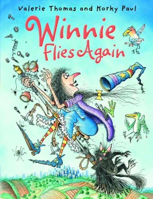 Winnie Flies Again (paperback and CD) (Reissue) winnie flies again