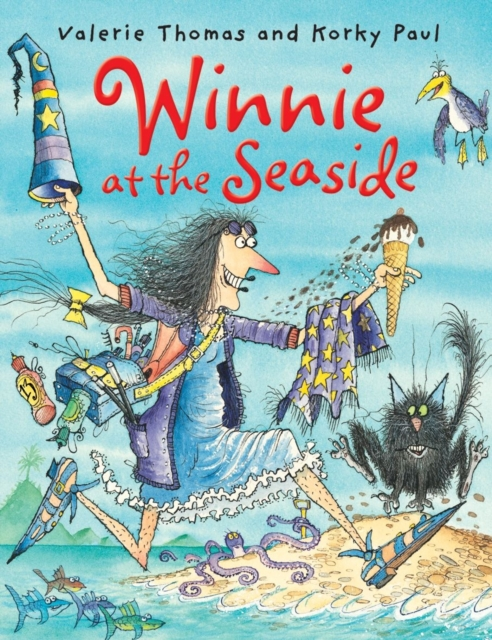 Winnie at the Seaside (paperback and CD) (Reissue)