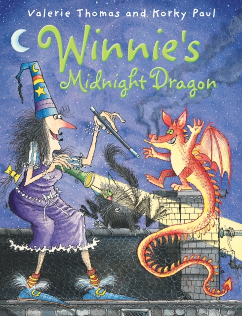 Winnie's Midnight Dragon (paperback and CD) chris wormell george and the dragon