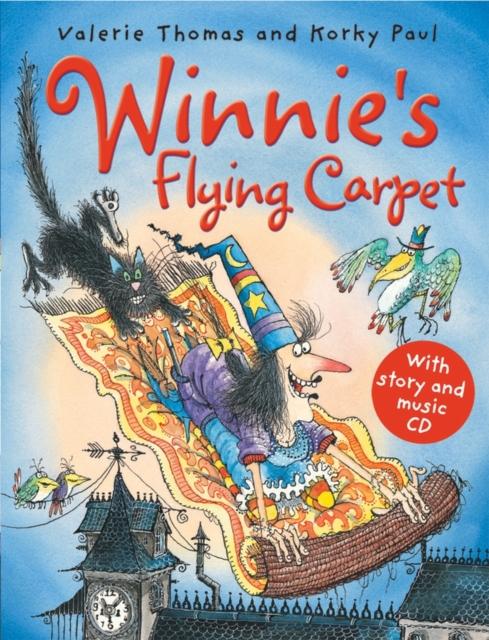 Winnie's Flying Carpet (paperback and CD) чай flying dragon
