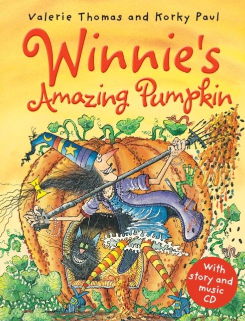 Купить Winnie's Amazing Pumpkin (paperback and CD),