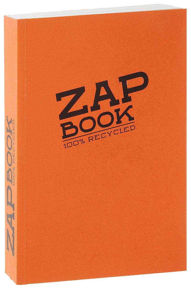 Блокнот Clairefontaine Zap Book, цвет: оранжевый, формат A6, 160 листов7834Блокнот Clairefontaine Zap Book, цвет: оранжевый, формат A6, 160 листов