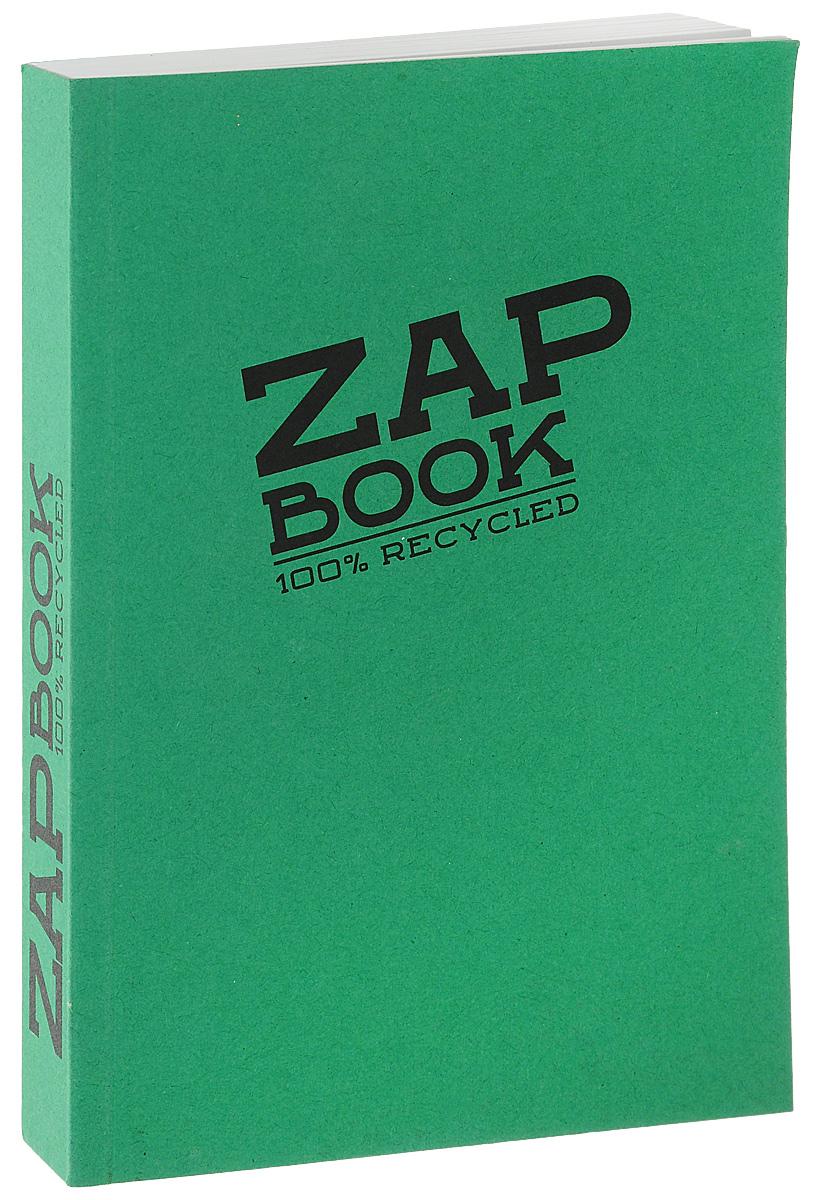 Блокнот Clairefontaine Zap Book, цвет: зеленый, формат A6, 160 листов. 3356С3356С_зеленый 2Блокнот Clairefontaine Zap Book, цвет: зеленый, формат A6, 160 листов. 3356С