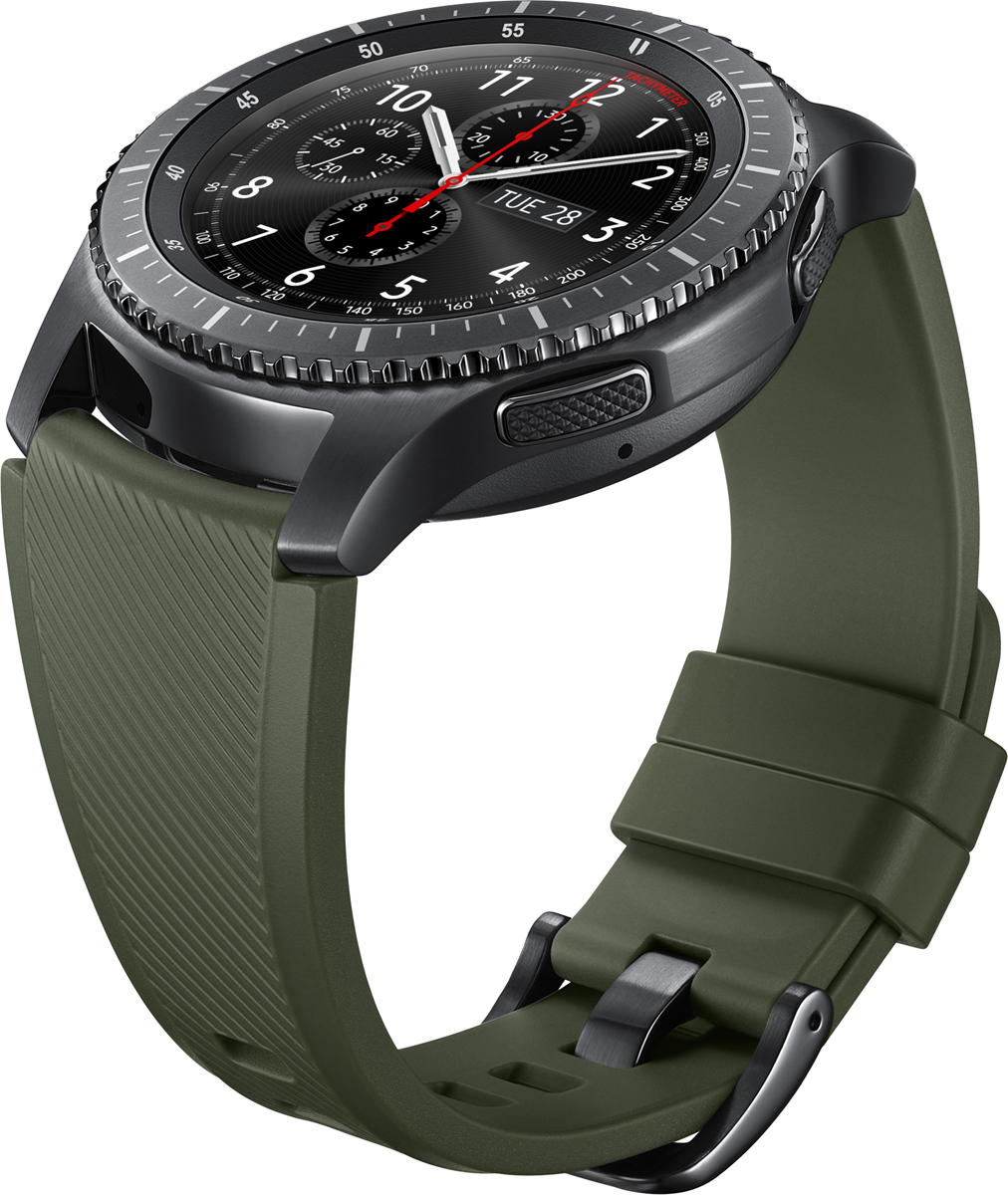 Samsung ET-YSU76ремешок для Gear S3, Dark Green Samsung