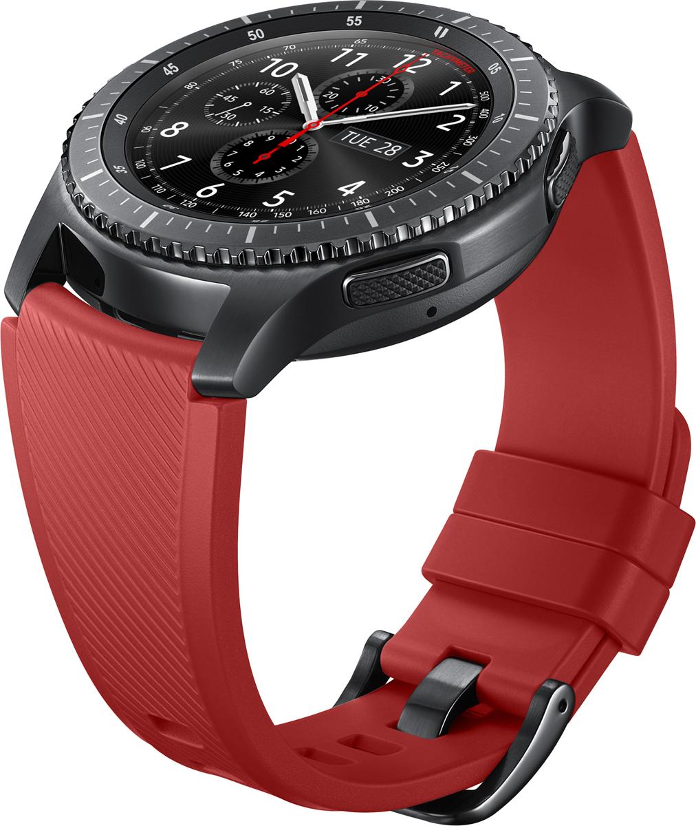Samsung ET-YSU76ремешок для Gear S3, Red Samsung