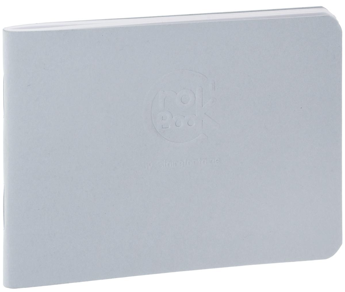 Блокнот Clairefontaine Crok Book, цвет: серый, формат A7, 24 листа2 006000 115940Блокнот Clairefontaine Crok Book, цвет: серый, формат A7, 24 листа