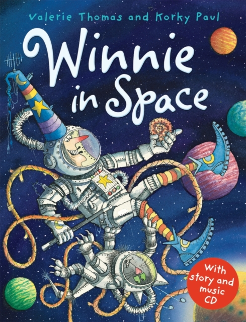 Winnie in Space (paperback and CD) what she left