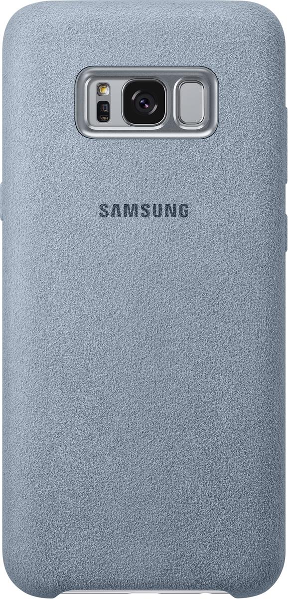 Samsung Alcantara Cover чехол для Galaxy S8+, MintSAM-EF-XG955AMEGRUЛицевая поверхность данного чехла выполнена изАлькантары— ультрамикрофибры высочайшего качества, отличающейся мягкостью, богатой цветовой гаммой, великолепной износостойкостью идолговечностью.
