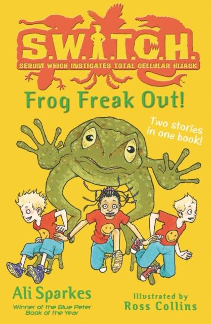 SWITCH:Frog Freak Out! skateboard freak abec 5