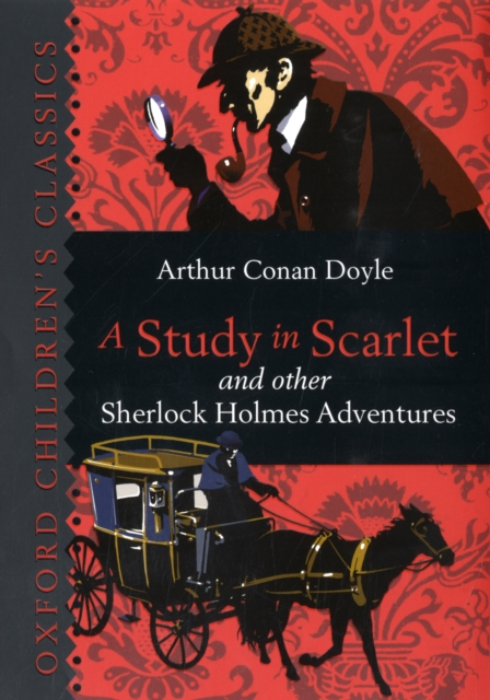 A Study in Scarlet & Other Sherlock Holmes Adventures the scarlet letter