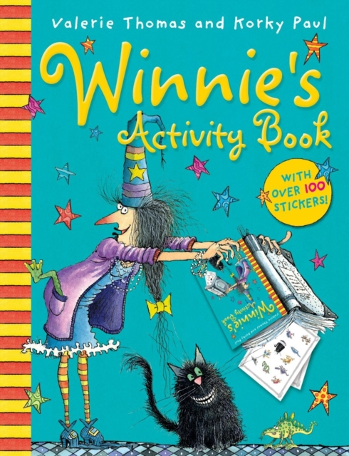 Winnie's Activity Book (New ed.) space activity book