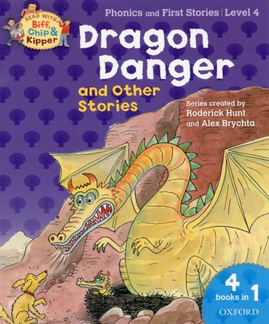 Oxford Reading Tree Read With Biff, Chip, and Kipper: Dragon Danger and Other Stories (Level 4) 860 960mhz abs rfid uhf anti metal tag with alien h3 chip read range 0 8m for warehouse management