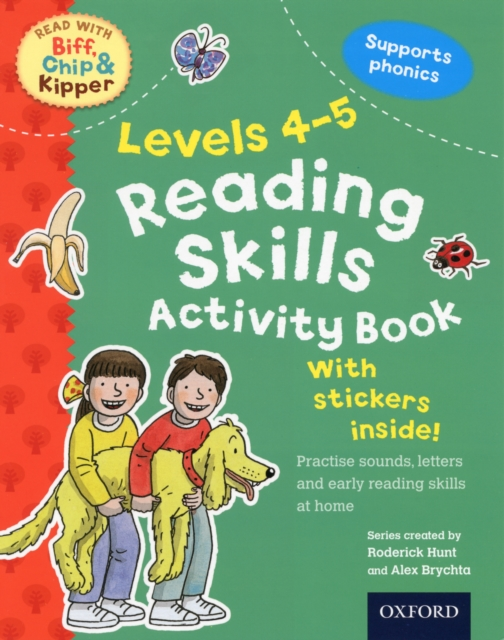 Oxford Reading Tree Read With Biff, Chip, and Kipper: Reading Skills Activity Book transformers a fight with underbite activity book level 4