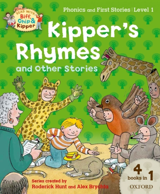 Oxford Reading Tree Read with Biff, Chip and Kipper: Kipper's Rhymes and Other Stories oxford reading tree read with biff chip and kipper first stories mountain rescue