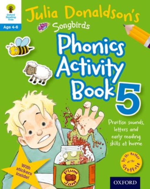 Oxford Reading Tree Songbirds: Julia Donaldson's Songbirds Phonics Activity Book 5 mastering arabic 1 activity book
