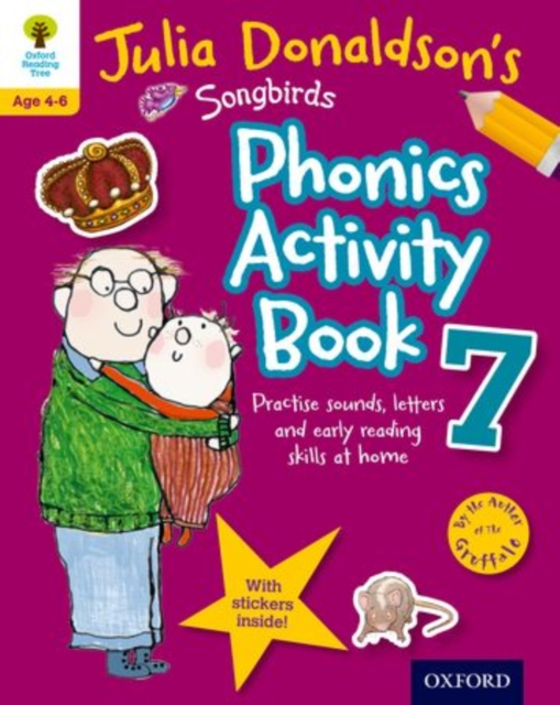 Oxford Reading Tree Songbirds: Julia Donaldson's Songbirds Phonics Activity Book 7 mastering arabic 1 activity book