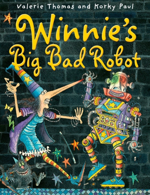 Winnie's Big Bad Robot the big bad wolf