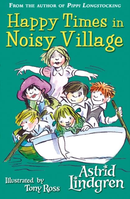 Happy Times in Noisy Village pippi longstocking