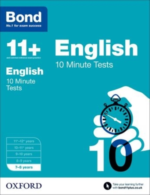 Bond 11+: 10 Minute Tests: 7-8 years gray e o sullivan n practice tests for the pet teacher s book 1 preliminary english test книга для учителя
