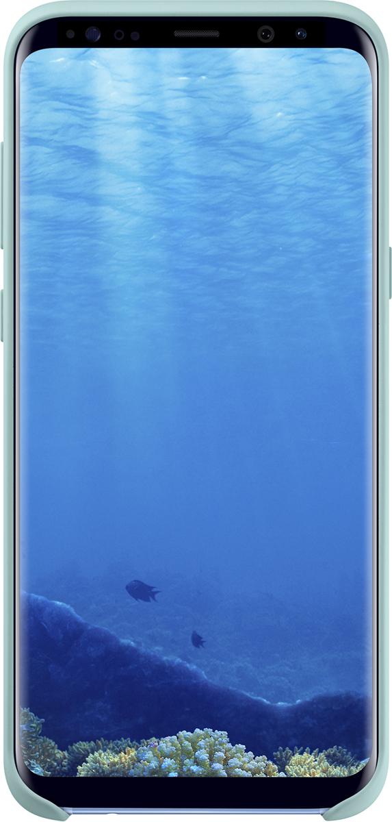 Samsung Silicone Coverчехол для Galaxy S8+, Blue Samsung
