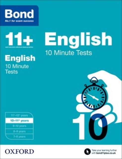 Bond 11+: 10 Minute Tests: 10-11+ years gray e o sullivan n practice tests for the pet teacher s book 1 preliminary english test книга для учителя