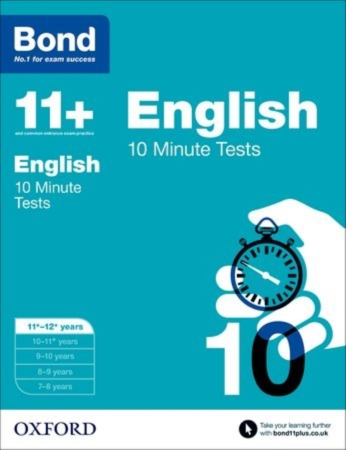 Bond 11+: 10 Minute Tests: 11+-12+ years gray e o sullivan n practice tests for the pet teacher s book 1 preliminary english test книга для учителя