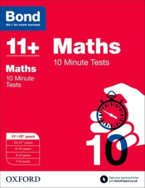 Bond 11+: 10 Minute Tests: 11+-12+ years