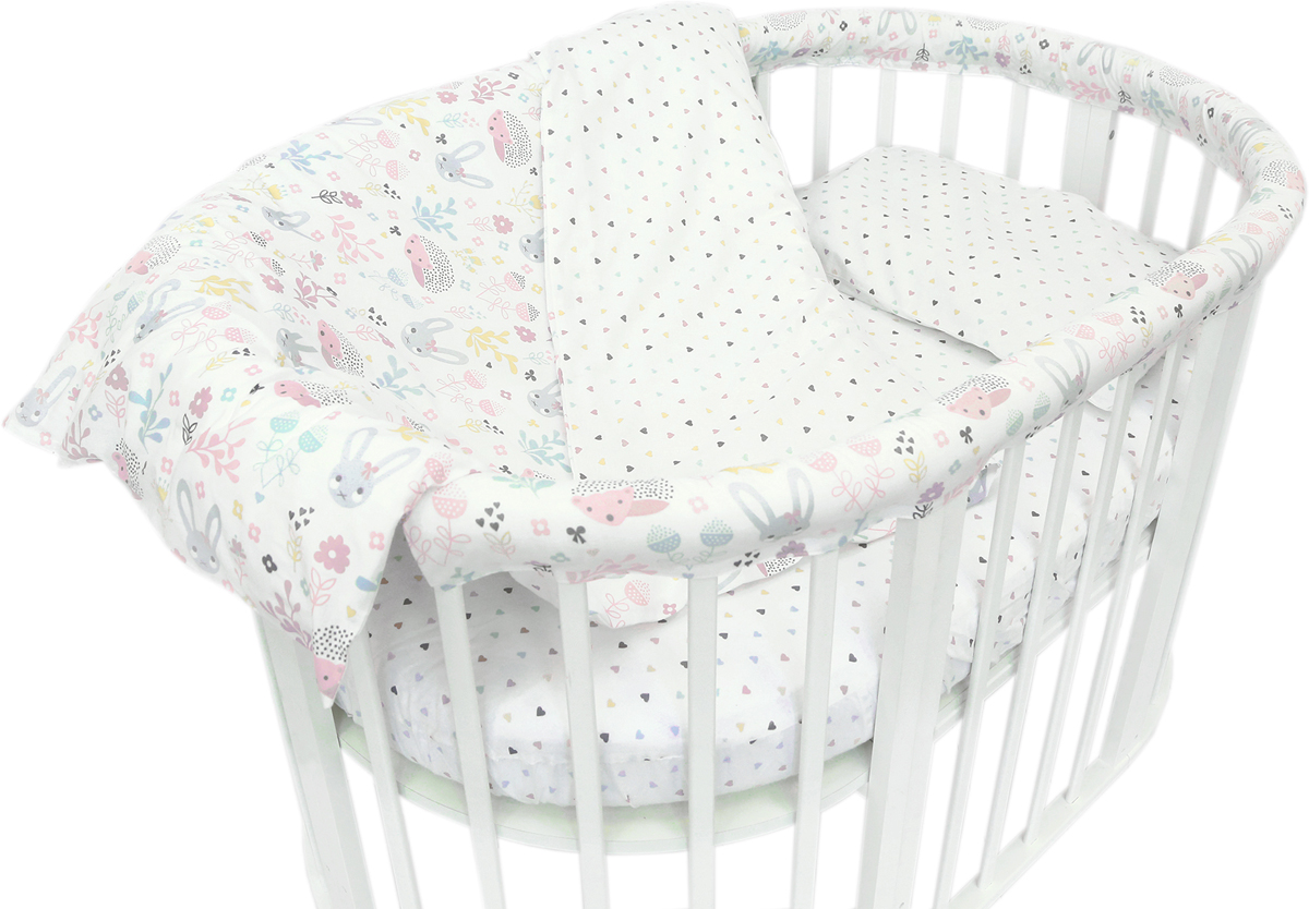 Baby Nice Комплект постельного белья детский Лесная поляна цвет розовый C531/1C531/1Постельное бельё, сшито из качественной бязи импортного производства. Бельё не деформируется, цвет не выстирывается.