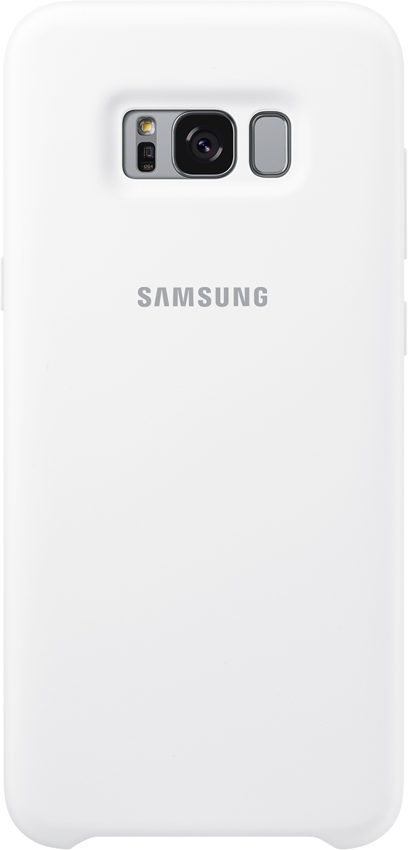 Samsung Silicone Cover чехол для Galaxy S8+, WhiteSAM-EF-PG955TWEGRUЭластичный ипрочный чехол, выполненный изсиликона. Легкий итонкий, онпрактически неизменяет размеры телефона, плотно охватывая инадежно удерживая его внутри. Отверстия идеально совпадают сразъемами иэлементами управления. Таким образом, предотвращается преждевременный износ смартфона, апользователю обеспечивается максимальный комфорт.